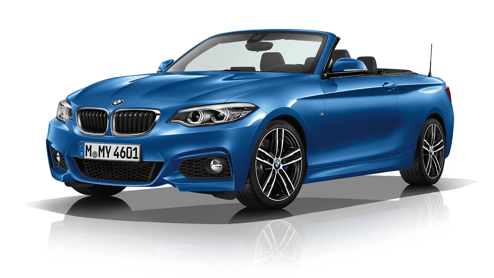 BMW 2 Series Convertible, Model M Sport three-quarter front shot