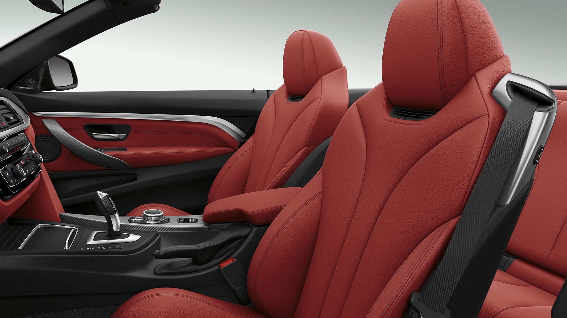 BMW 4 Series Convertible, Model Sport Line interior