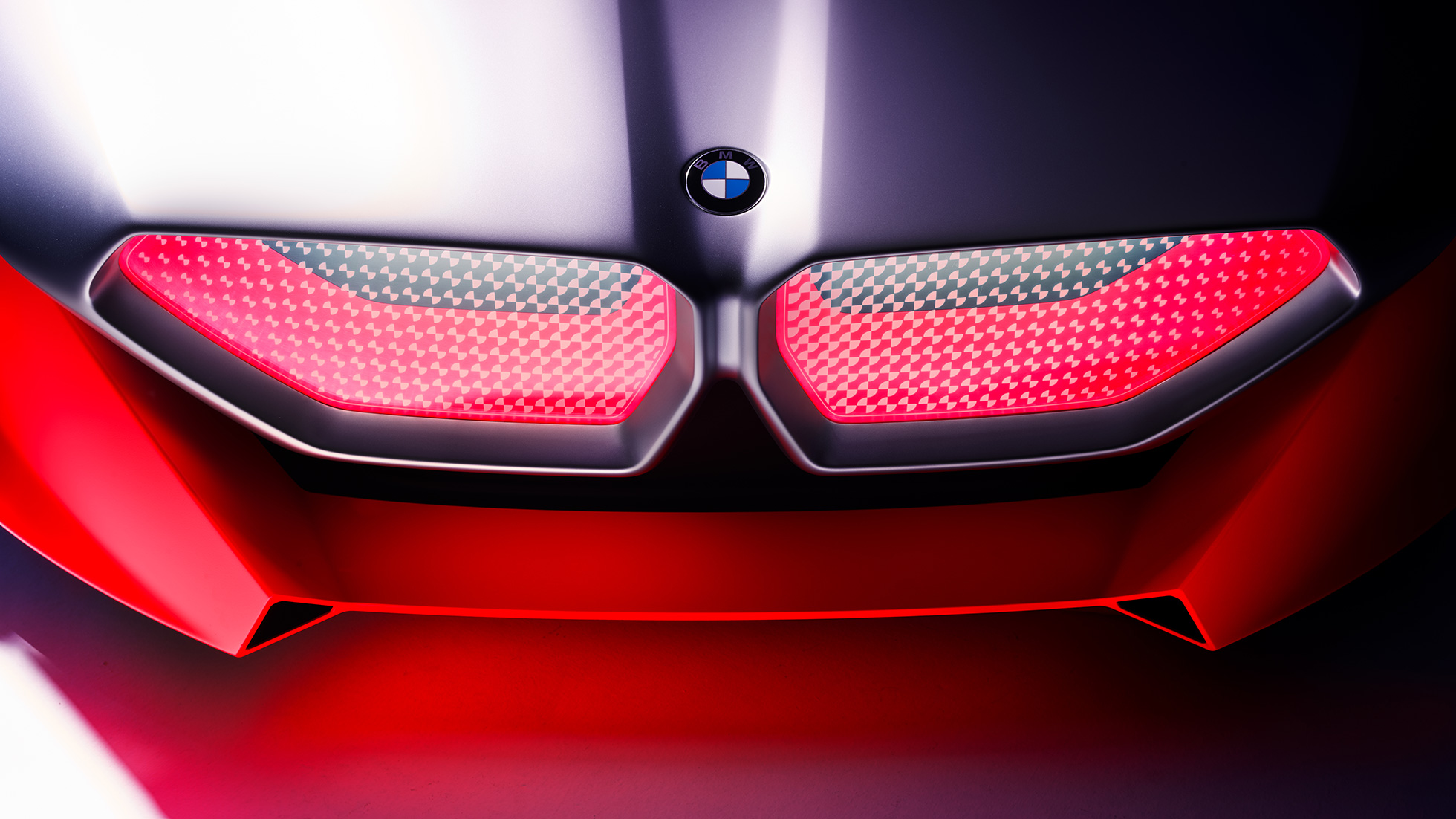 BMW Vision M NEXT, close-up, Exterior, BMW kidney grille